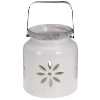 Porcelánová lucerna Fabara, bílá
