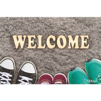 Covoraș Domarex LiveLaugh Welcome Shoes, 40 x 60 cm