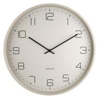 Ceas de design, de perete, Karlsson 5751WG, diam. 40 cm