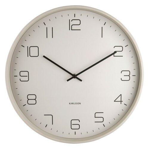 Karlsson 5751WG designové nástěnné hodiny, pr. 40 cm
