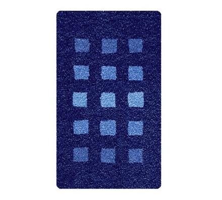 Koupelnová předložka Premium modrá, 55 x 65 cm