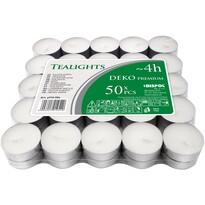 Set lumânări tip pastilă Deko premium, 50 buc.