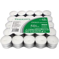 Zestaw świeczek tealight Deko premium, 50 szt.