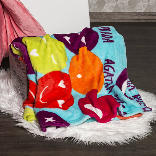4Home Soft Dreams Szmájli takaró, 150 x 200 cm