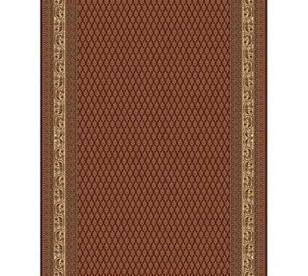 Perský metrážový běhoun Melody vínový, 70 x 100 cm