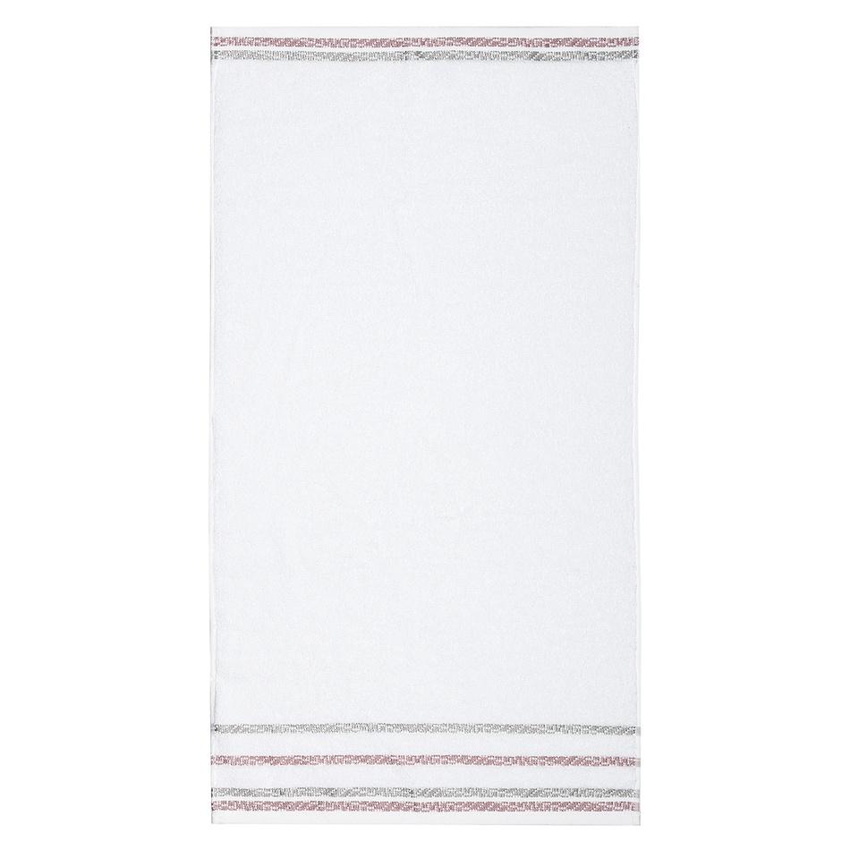 Zľava  4Home Uterák New Bianna biela, 50 x 90 cm
