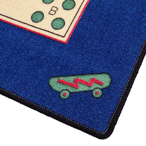 Detský koberec Človeče nehnevaj sa, 92 x 92 cm