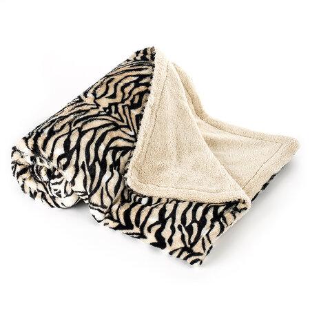 Baránková deka Tiger , 150 x 200 cm