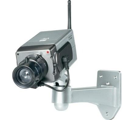 Atrapa kamery, WLAN s motorem, Conrad, 7 x 18,2 x 23 cm