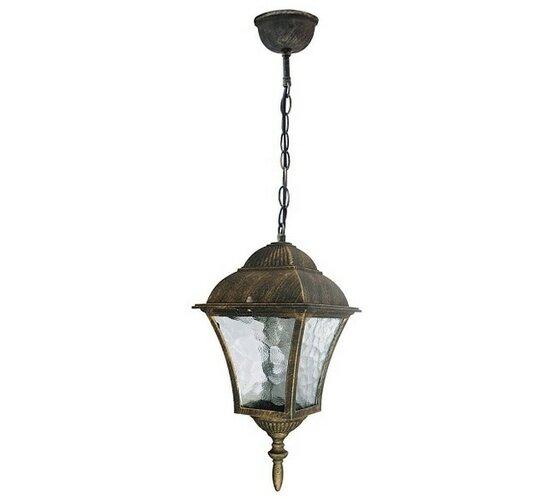 Venkovní závěsné svítidlo Rabalux Toscana antická zlatá 8394
