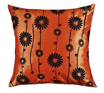 Polštářek Dora oranžová, 45 x 45 cm