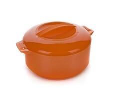 Garnek termiczny 2,5 l Culinaria z pokrywką, pomarańczowy