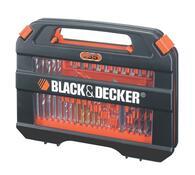 Sada vrtáků a bitů MIX, Black & Decker, oranžová