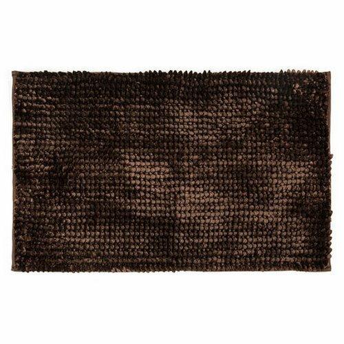 Bo-ma Koupelnová předložka Ella micro tmavě hnědá, 40 x 50 cm