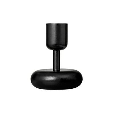 Svícen Nappula 10,7 cm, černý