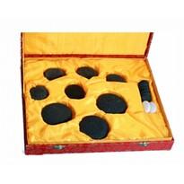 Kamienie lawowe do masażu Basalt, 18 szt.
