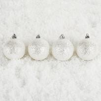 Vianočné gule Bglitter 6 ks