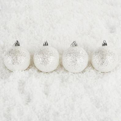 Vánoční koule Bglitter 6 ks