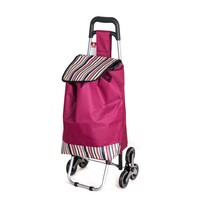 Brilanz Nákupní taška na kolečkách Carrie, stripes