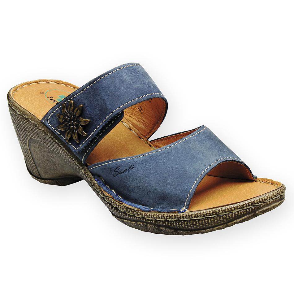 Pantofle Santé, modré, 40