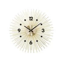 Nástenné hodiny Lavvu Crystal Lines LCT1141 zlatá, pr. 49 cm