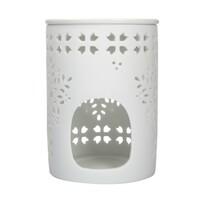 Altom Porcelánová aromalampa Ellie 8,5 x 11,5 cm, biela
