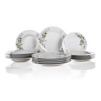 Banquet Súprava tanierov Olives, 18 ks
