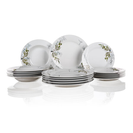 Banquet 18dílná jídelní sada Olives