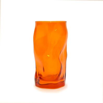 Florina Sorgente sklenice 460 ml, oranžová