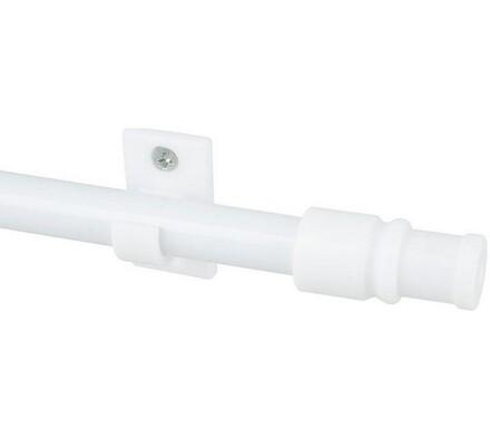 Vitrážní tyčka California bílá, 75/135 cm