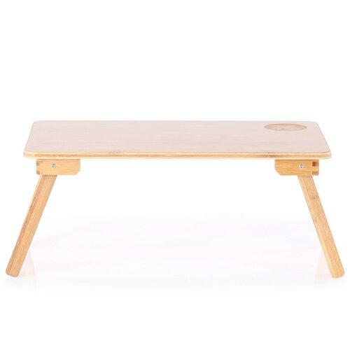 Bambusový stolek na notebook Koda, 22 x 30 x 50 cm