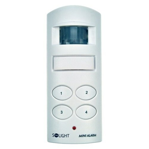 Solight DOMOVÉ alarm, pohybový senzor, 130dB, min. dosah: 5 m