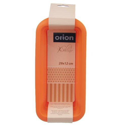 Orion Forma silikón CHLIEB 29 x 12 cm, oranžová