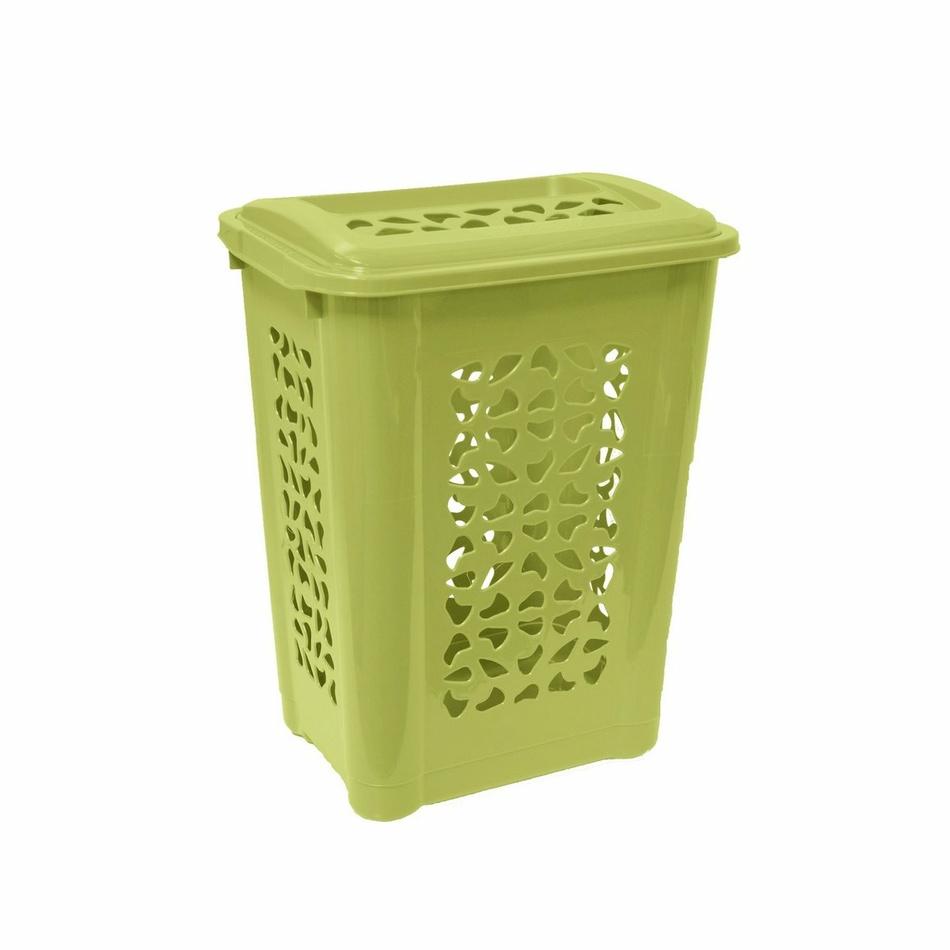 Keeeper Koš na špinavé prádlo per, zelený 60l