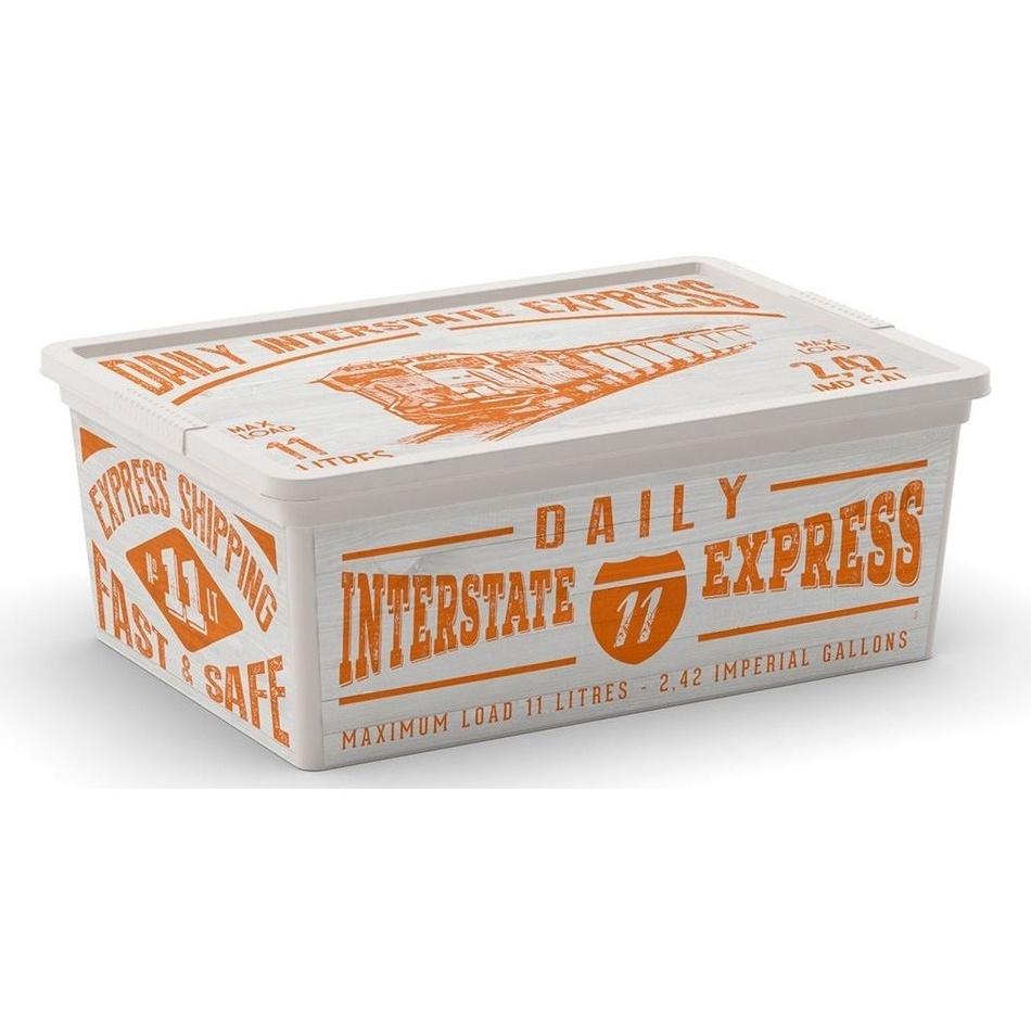 Úložný box KIS C box Wood S 11 L