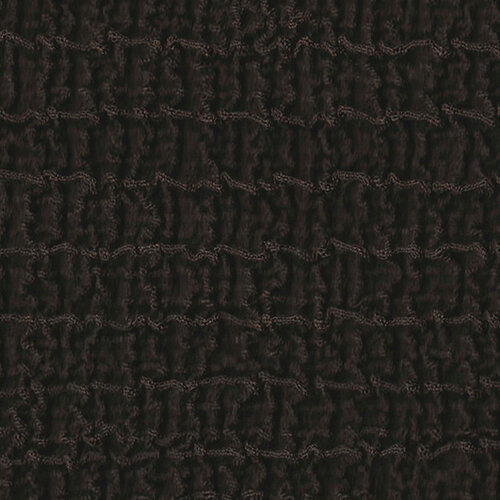 Multielastický potah na taburet Cagliari hnědá, 40 - 60 cm