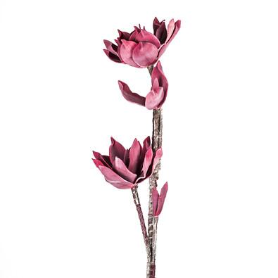 Umělá květina dekorativní fialová