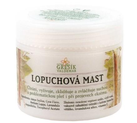 Lopuchová mast Grešík 50 ml