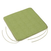 Siedzisko Adela gładkie UNI zielony, 40 X 40 cm