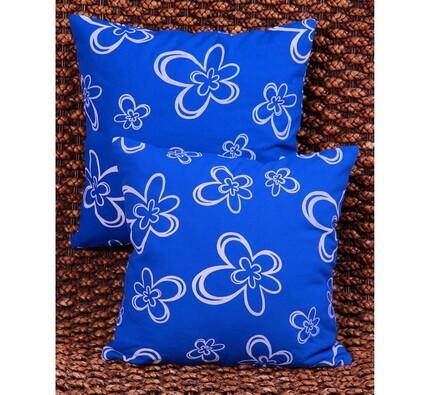 Povlaky na polštářky Květ, modrá
