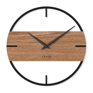 Lavvu LCT4010 nástěnné hodiny Loft, pr. 35 cm