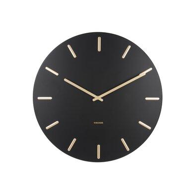 Karlsson 5716WH Designové nástěnné hodiny pr. 45 cm