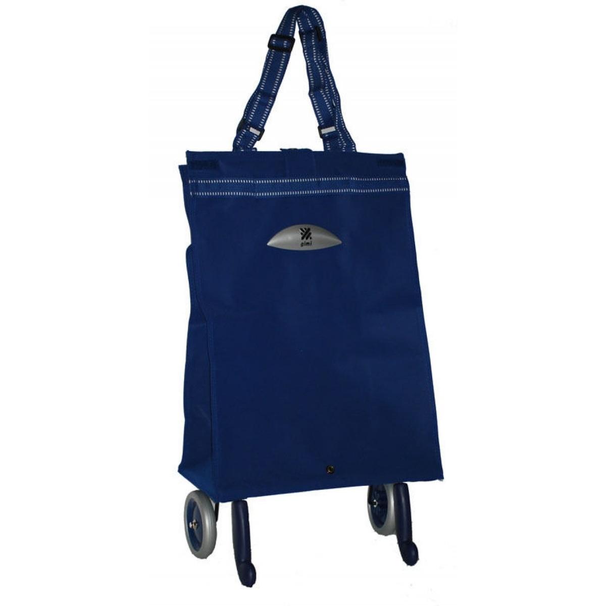 Brava modrá taška na kolečkách