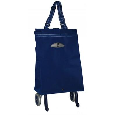 Gimi Brava nakupní taška na kolečkách modrá