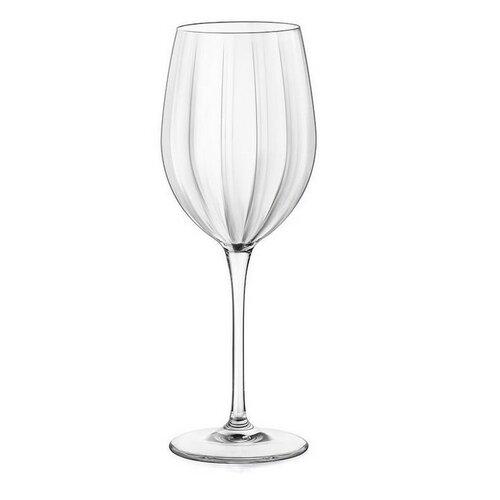 Bormioli Rocco 4-dielna Sada pohárov na víno Incontri, 430 ml