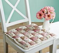 Prošívané podsedáky na židle, růžová