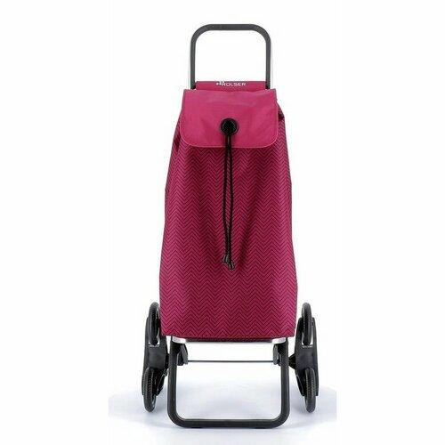Rolser Nákupná taška na kolieskach I-Max Ona Rd6, vínová