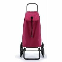 Rolser Nákupní taška na kolečkách I-Max Ona Rd6, vínová