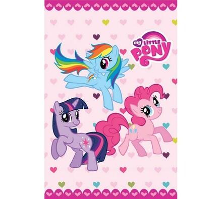 Ručník My little Pony, 40 x 60 cm, růžová, 40 x 60 cm