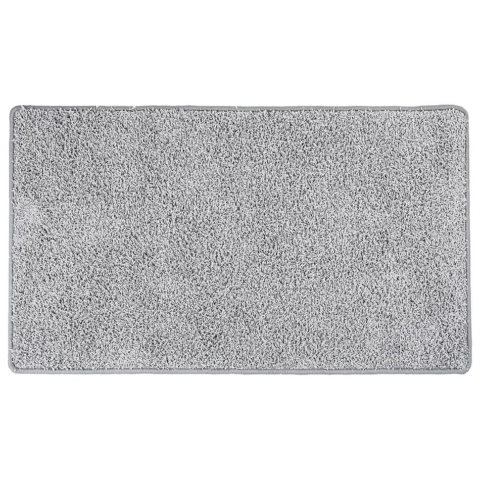 Vopi Kusový koberec Elite Shaggy sivá, 80 x 150 cm